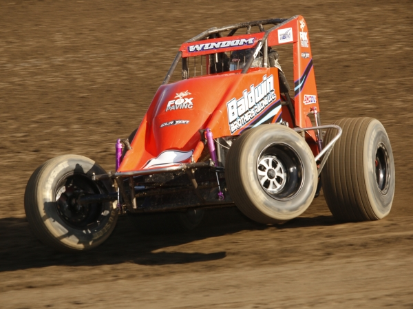 Chris Windom hasn't finished outside the top-6 in a USAC National feature in three-and-a-half months.