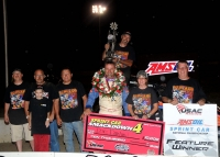 "DARLAND REIGNS SUPREME, WINS THIRD-STRAIGHT KOKOMO ""SPRINT CAR SMACKDOWN"""