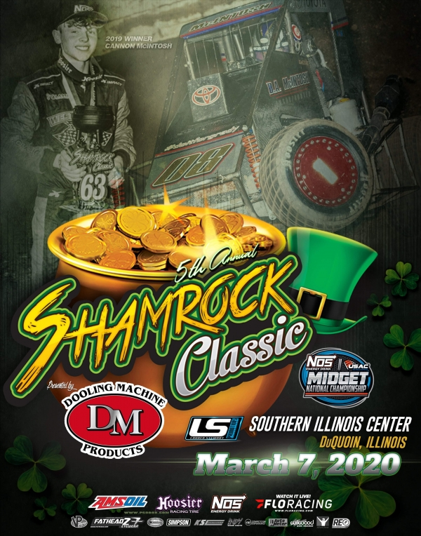"The 5th Annual ""Shamrock Classic"" is scheduled for Saturday, March 7th."