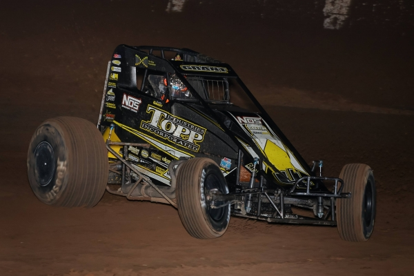 #4 Justin Grant - winner of 3 of the last 5 USAC AMSOIL National Sprint Car races.