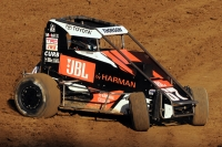 "Tanner Thorson swept last weekend's ""Gold Crown Midget Nationals"" at Tri-City Speedway in Granite City, Illinois for the second year in a row."