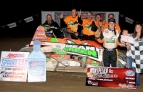 BACON BRINGS IT HOME IN MONTPELIER'S USAC SPRINT DEBUT
