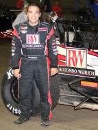 "Chris Windom is USAC's 2013 TRAXXAS Silver Crown ""Rookie of the Year."""