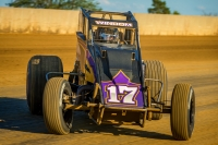 "Chris Windom collected his second career ""Ted Horn 100"" victory Saturday night at the Du Quoin State Fairgrounds."