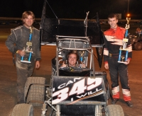Billy Crbiis won again at Plymouth Saturday.
