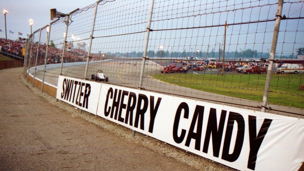 Turn 1 at Indianapolis Raceway Park in 1988