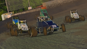 ROGERS KICKS OFF IRACING USAC CHAMPIONSHIP WITH FAIRBURY WIN