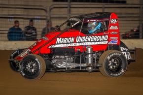"Thomas Meseraull returns to the Amati Racing #66 for this Sunday's ""Jason Leffler Memorial"" USAC National Midget race in Wayne City, Illinois."