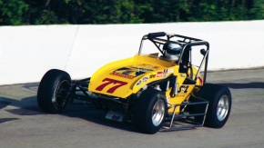Chet Fillip at Winchester (Ind.) Speedway in 1997.
