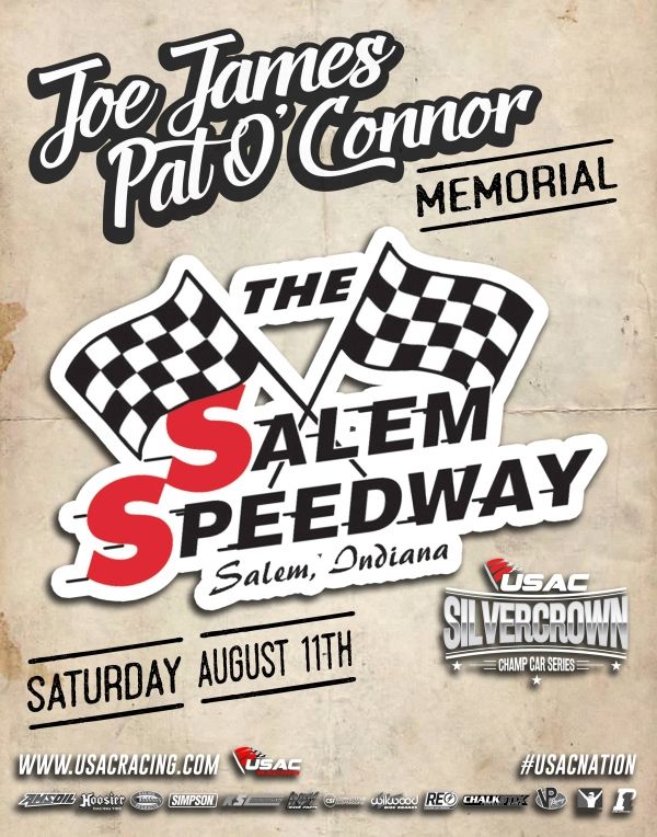 SALEM USAC SILVER CROWN RESULTS: Aug. 11, 2018