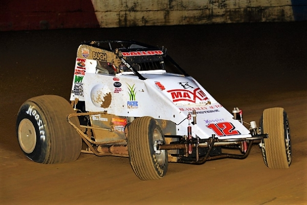 "Robert Ballou on his way to his first ""Tony Hulman Classic"" win in 2015."