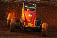 "Chris Windom was victorious in Friday night's ""Eastern Storm"" round at Williams Grove Speedway."