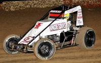 Matt Rossi - 3rd in USAC Southwest Sprint Car Points.