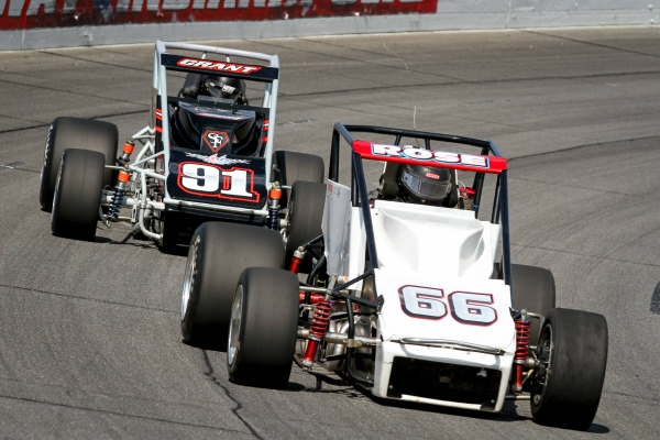 "#66 Bill Rose and #91 Justin Grant are entered for this Saturday's ""Memphis 100"" at Memphis International Raceway."