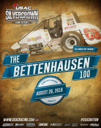 BETTENHAUSEN 100 SPEEDS INTO THE SPRINGFIELD MILE THIS SATURDAY
