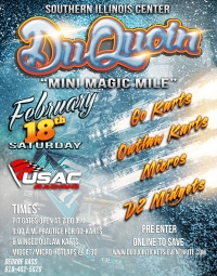 PURSES ANNOUNCED FOR FEB. 18TH Du QUOIN EVENT