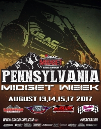 RACEDAY: Path Valley - USAC Midgets - Aug. 14, 2017
