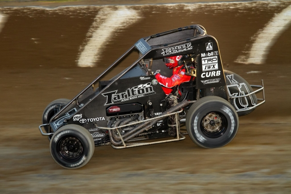 USAC Indiana Midget Point Leader Carson Macedo of Lemoore, California.