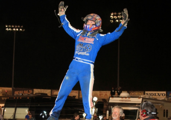 "Matt Mitchell emerged the winner of the ""Salute to Indy"" feature at the PAS."