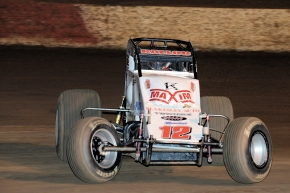 BALLOU DRAWS FIRST BLOOD, WINS OVAL NATIONALS OPENER