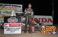 "CLAUSON STARTS KANSAS WEEK WITH ""McDANIEL MEMORIAL"" VICTORY"