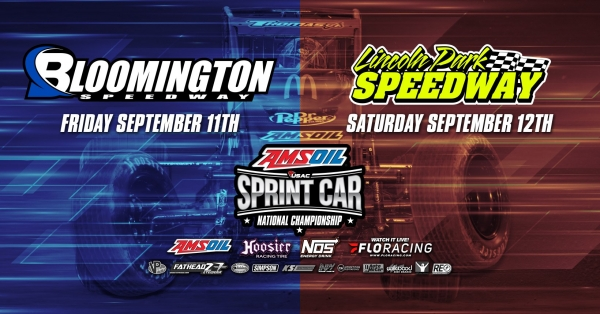 EVENT INFO: 9/11/2020 BLOOMINGTON USAC SPRINTS