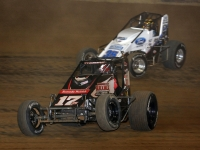 Kevin Thomas, Jr. (#17RW) looks to continue his hot streak as Hunter Schuerenberg (#35) will defend his win from last spring at Tri-State Speedway on Saturday, May 11th...