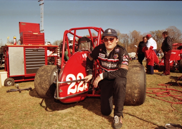 1994 USAC National Sprint Car champion Doug Kalitta of Ann Arbor, Michigan