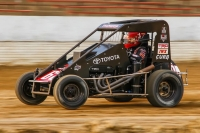 KEVIN THOMAS, JR. TAKES FIRST USAC MIDGET WIN AT PLYMOUTH