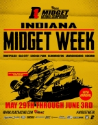 6-STRAIGHT NIGHTS OF INDIANA MIDGET WEEK BEGINS TUESDAY