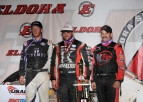 BALLOU BLOWS AWAY FIELD TO WIN FRIDAY ELDORA FEATURE