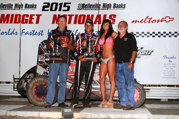 CLAUSON BECOMES SECOND THREE-TIME