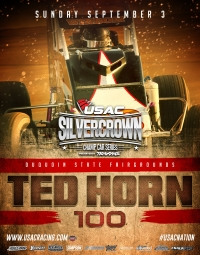 TED HORN 100 BACK ON THE MAGIC MILE OF Du QUOIN SEPT. 3RD