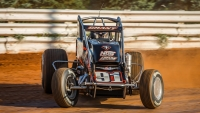 USAC Silver Crown point leader, Justin Grant (Ione, Calif.)