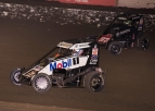 SEAVEY SAVES BEST FOR LAST AT BAKERSFIELD, CLINCHES USAC NATIONAL MIDGET TITLE