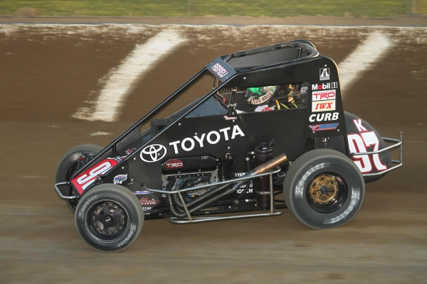 "Rico Abreu won last Saturday night's USAC National Midget ""4-Crown Nationals"" feature at Eldora Speedway."