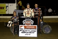 "BELL BANKS ""BELLEVILLE BASH"" HONDA NATIONAL MIDGET FEATURE"