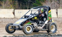 Bear Ridge DMA Midget Winner Adam Whitney.