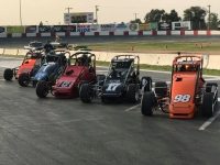 EASTERN SPEED2 MIDGETS CLOSE AT DOMINION, WESTERN DOUBLE DIPS AT STOCKTON