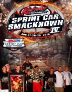 "PRIZES AND CASH BONUSES CONTINUE TO MOUNT FOR ""SPRINT CAR SMACKDOWN IV"""