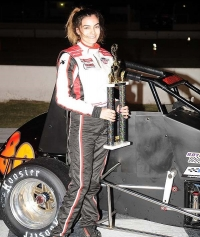 TONI BREIDINGER #1 AT MADERA; EASTERN RACES WEATHERED OUT