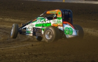 "Kevin Thomas, Jr. scored the 100th career points-paying USAC AMSOIL National Sprint Car win for the Hoffman family Monday night in round 5 of ""Eastern Storm"" at New Jersey's Bridgeport Speedway."