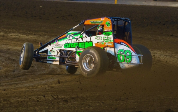 KTJ TAKES HOFFMAN TO THE CENTURY MARK IN BRIDGEPORT USAC SPRINT DEBUT