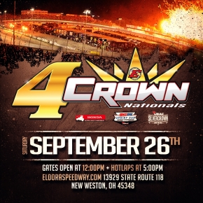 "HINES LEADS MIDGETS TO ""4-CROWN"" SATURDAY"