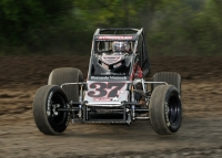 "STANBROUGH STAYS HOT, OPENS ""SPRINTWEEK"" WITH GAS CITY SCORE"
