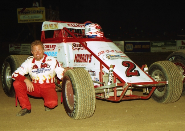 1998 USAC National Sprint Car champion Tony Elliott of Kokomo, Indiana