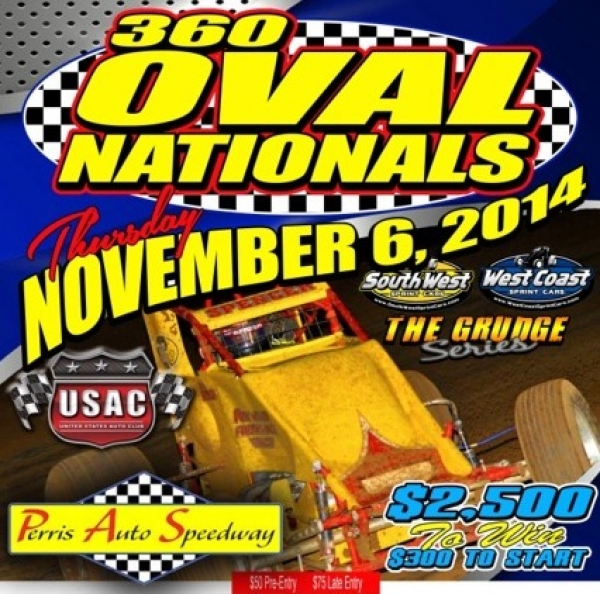 360 OVAL NATIONALS FEATURE WEST COAST/SOUTHWEST SPRINTS