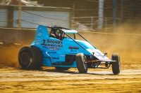 #40 David Byrne backing it in at Terre Haute.