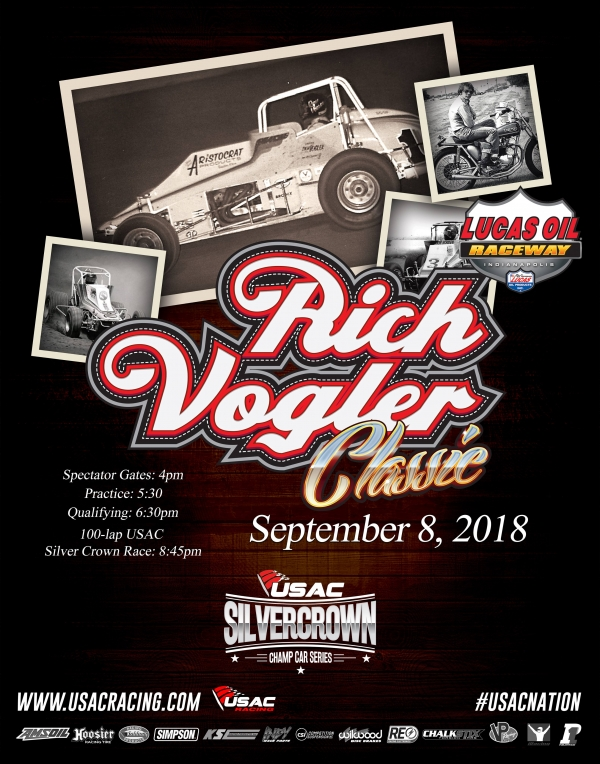 SATURDAY'S RICH VOGLER CLASSIC AT LOR CANCELED