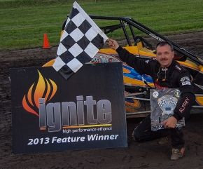 Toby Alfrey wins again at Montpelier.